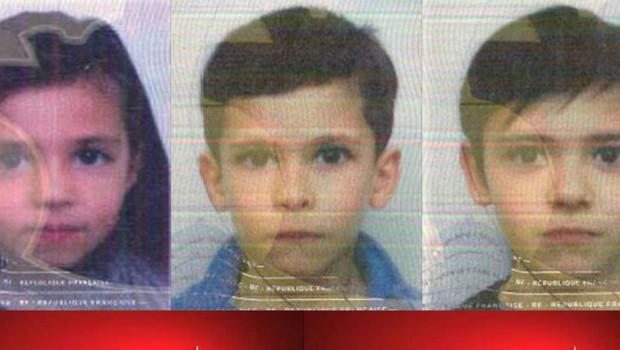 Alerte enlèvement : 3 enfants disparus