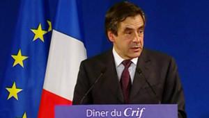 François Fillon au dîner annuel du Crif (2 mars 2009)