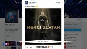 """""""Je suis venu avec le boulard, je repars avec une montgolfière"""" : Zlatan raillé sur le web"""