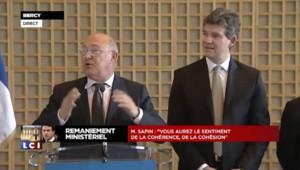 """Sapin : Bercy, un """"cerbère à deux têtes"""" ? """"C'est impossible"""""""