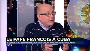 A Cuba, le pape François n'a pas obtenu de pouvoir visiter des prisonniers