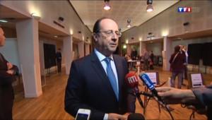 """Le 13 heures du 25 mai 2014 : Fusillade au Mus�juif de Bruxelles : Hollande exprime la """"solidarit�de la France - 295.579"""