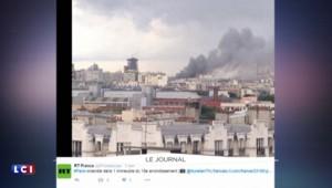 Paris : violent incendie dans le XVIIIème arrondissement