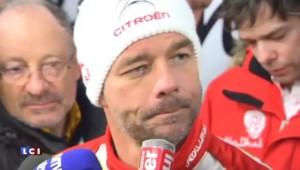"""Sébastien Loeb : """"Des conditions de route pas favorables"""""""