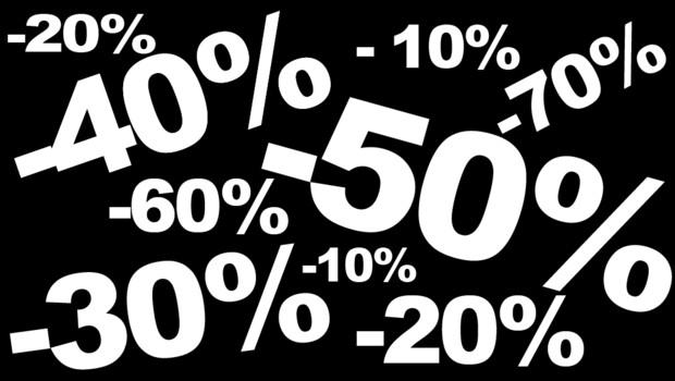 soldes démarques ristourne pourcentage rabais