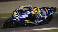 Valentino Rossi s'impose au Qatar
