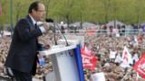 """Hollande à Vincennes : """"rien ne nous arrêtera"""""""
