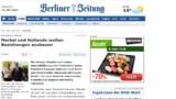 Pour la presse allemande, Hollande et Merkel sont condamnés à s'entendre