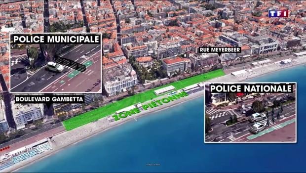Attentat de Nice : la polémique enfle autour du dispositif de sécurité