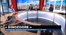 DinoZOOre : des dinosaures grandeur nature envahissent le parc de Thoiry
