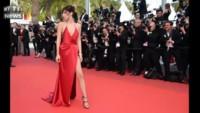 La mannequin Bella Hadid nue sous sa robe enflamme le tapis rouge