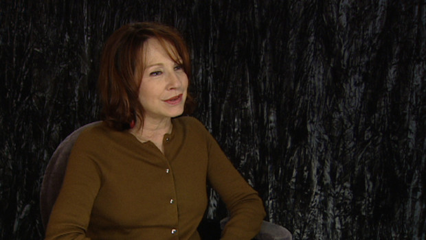 Nathalie Baye lors de l'interview pour la sortie du film Ensemble c'est trop
