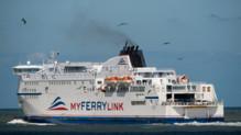 Un ferry de la compagnie MyFerryLink