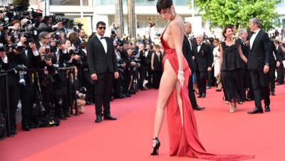 Bella Hadid robe Cannes