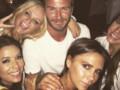 David Beckham fête ses 40 ans avec les Spice Girls