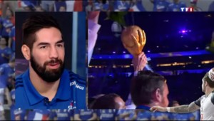 """Handball : """"On va se battre encore plus pour faire grandir notre sport"""" assure Karabatic sur TF1"""