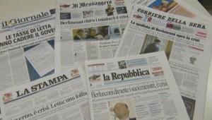 Italie : revue de presse au lendemain de la démission du gouvernement des ministres du parti de Berlusconi, 29/9/13