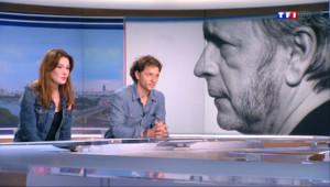 """Le 20 heures du 8 juin 2014 : Carla Bruni : """"J'aimerais bien que Renaud se remette �crire"""" - 1681.999"""
