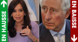 Photo montage : Cristina Kirchner (à g.) / le Prince Charles (à d.)