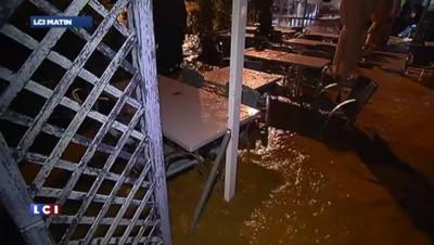 Var : La Londe-les-Maures sous l'eau
