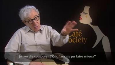 """En direct de Cannes. Woody Allen : """"Le problème avec Cannes"""""""