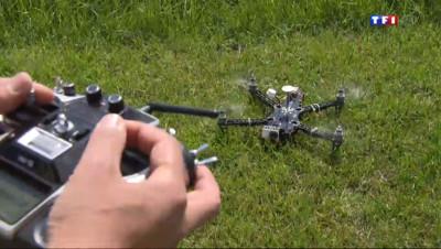 Le 20 heures du 4 mai 2014 : Les drones s�isent aussi les particuliers - 1333.139