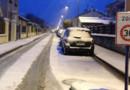 Les rues de Clamart, dans les Hauts-de-Seine, sous la neige, le 10 février 2013.