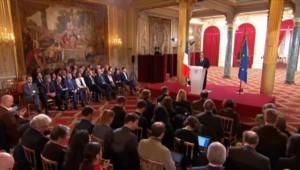 """Hollande : """"J'ai forcément changé à la suite de ces événements"""""""