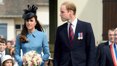 Kate Middleton et le prince William à Arromanches pour les 70 ans du débarquement du 6 juin 1994.