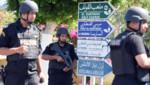 La police tunisienne à Sousse le 27 juin.