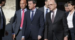 Manuel Valls et Bernard Cazeneuve.