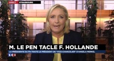 Marine Le Pen clashe Hollande : elle s'explique sur LCI