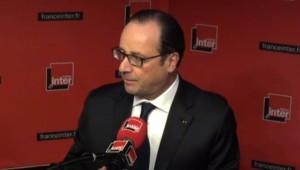 François Hollande, le 5/1/15, sur France Inter