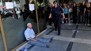 Grèce, crise économique, europe, retraité
