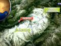 La localisation du Mont Blanc