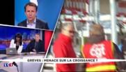 """Le vice-président du Medef dénonce """"des méthodes de contestation d'une autre époque"""" de la CGT"""