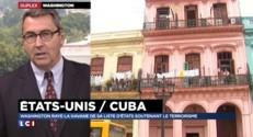 Les Etats-Unis effacent Cuba de la liste des états soutenant le terrorisme