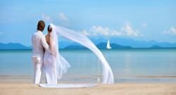mariés les yeux fermés mariage couple époux épouse