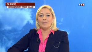"""Marine le Pen : """"S'il y avait la proportionnelle, nous aurions 100 députés"""""""
