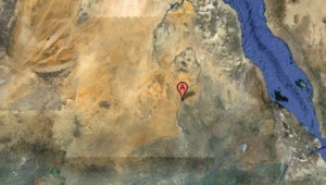 Vue du Soudan depuis l'espace (Google maps)