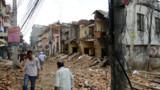 Le Népal ravagé par un violent séisme, déjà un terrible bilan