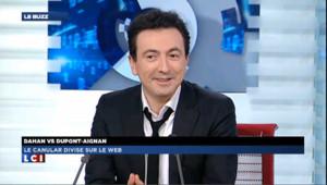 """Gérald Dahan vote François Hollande ! (""""Le Buzz"""" LCI)"""
