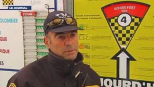 Gilbert Fabron, responsable de la sécurité des pistes à Auron