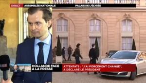 """Guillaume Larrivé : """"Le Président a donné une conférence de presse pour rien"""""""
