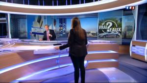 Le 20 heures du 13 août 2013 : Le Vrai-Faux : y a-t-il assez de policiers en France ? - 987.597