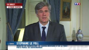 """Le 20 heures du 22 mars 2015 : Départementales: le Foll appelle au """"rassemblement"""" des électeurs de gauche - 2231.122"""