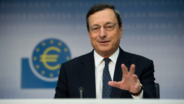 Le prsident de la BCE, Mario Draghi, lors d&#039;une confrence de presse, le 6 septembre 2012.