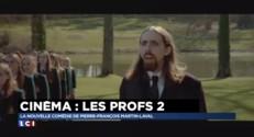 """Les Profs 2 : """"Je n'ai rien à apprendre aux acteurs de théâtre"""" confie Pef"""