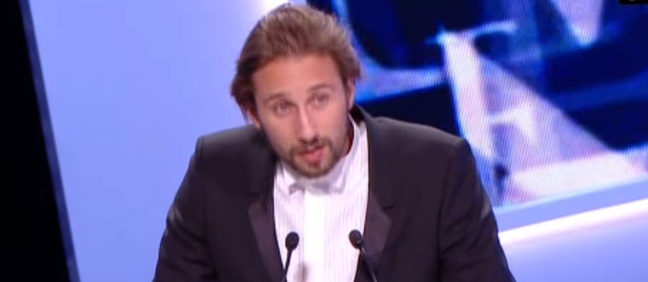 Matthias Schoenaerts, César 2013 du meilleur espoir masculin.