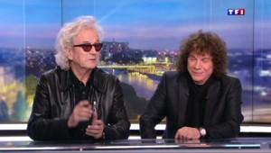 """""""Notre Dame de Paris"""" : Luc Plamondon et Richard Cocciante invités du 20h de TF1"""